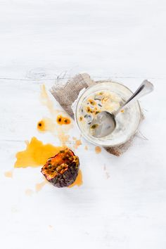 Passion Fruit / My Little Fabric #food #dessert #style
