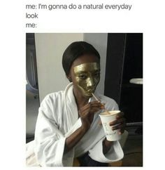 Image about model in y e l l o w by Calipso on We Heart It Haha, Makeup Humor, Makeup Qoutes, Funny Memes, Hilarious, Funny Quotes, Face Art, Funny People, Everyday Look
