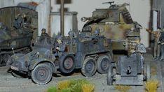 "Krupp Protze ""Kfz.69 Zugwagen für 3,7-cm-PaK 36"" Luftwaffe, Armored Vehicles, Armed Forces, Scale Models, Military Vehicles, Modeling, German, Miniatures, Trucks"