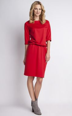 The Charming Red Dress - SilkFred