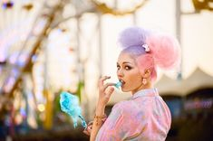 cotton candy hair - Google Search