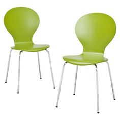 Modern Stacking Chair (Set of 2) $89