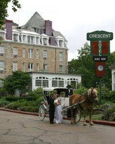 1886 crescent hotel spa eureka springs ar wedding venue