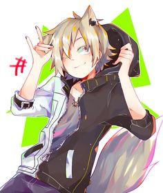 Shuuya Kano Anime Neko Kawaii Cute Boy Love