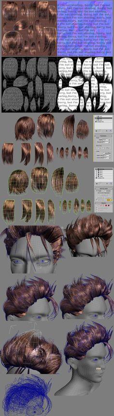 How I do Hair by Athey.deviantart.com on @deviantART