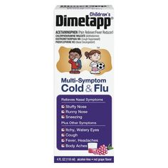 Dimetapp Children's Cold & Flu Just $1.80/Each At Target After Gift Card And Printable Coupon!