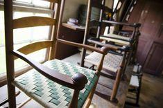 Hancock Shaker Village Chair Maker's Shop Tour | Wood and Shop