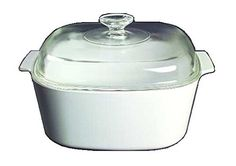 Corning Ware White Coupe Square Casserole w Lid  5 Quart   A5B  >>> For more information, visit image affiliate link Amazon.com