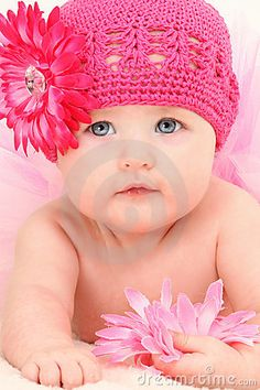 Beautiful 4 Month Old Baby Girl Royalty Free Stock Image - Image: 15880536