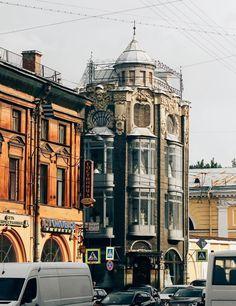 Угловые дома Петербурга. Автор фото: Александр Яньтюшев.