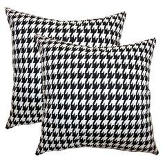 Cute Houndstooth Pillows