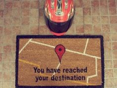 GPS Doormat