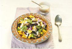 Salada de berinjela frita com pimentão e cebola roxa | Panelinha - Receitas que funcionam