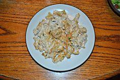 Jalapeno Popper Pasta-cheesy, spicy, delicious.