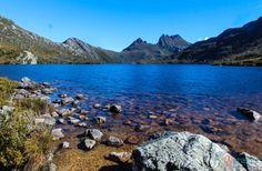 "The Dove Lake Circuit beneath Cradle Mountain is one of Tasmania's Great Short Walks"". At The Dove Lake is great to do with kids. Australia Photos, Visit Australia, Australia Travel, Queensland Australia, Western Australia, Cool Places To Visit, Great Places, Places To Travel, Beautiful Places"