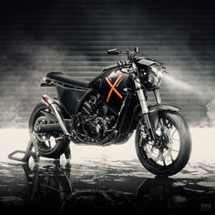 The English workshop Wreckless Motorcycles tackles the much-maligned Aprilia Moto And somehow pulls it off. Forks Design, Freedom Riders, Cafe Racer Girl, Brake Calipers, Vintage Bikes, Biker Girl, Cars And Motorcycles, World, Mad