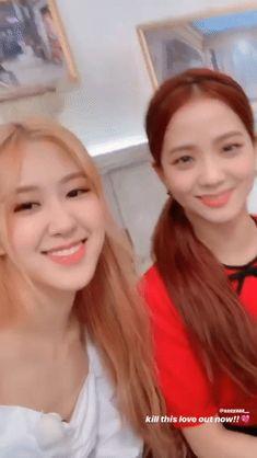 Kpop Girl Groups, Korean Girl Groups, Kpop Girls, Blackpink Youtube, Young Kim, Black Pink Kpop, Park Chaeyoung, Blackpink Jisoo, Love Rose