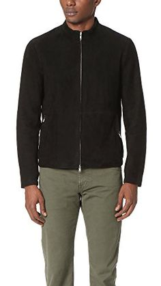 THEORY Theory Men'S Amorim Suede Bomber. #theory #cloth #