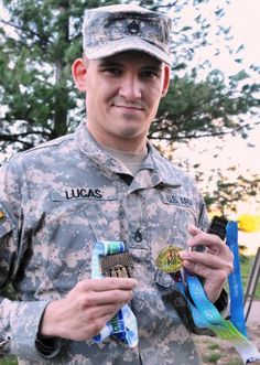 An Army Sustainment Command headquarters Soldier hit the pavement in what was supposed to be a family affair as he chalked up another competition in the Savannah Rock'n'Roll Marathon and Half-Marathon.