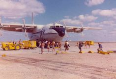 Shorts Belfast at RAF Masirah. Wait I have actually been at this base on the island of Mariah off the coast of Oman