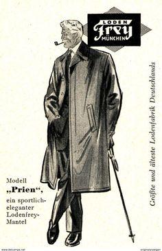 Lodenfrey mantel herren