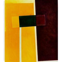"""Stelt"" 140 x 120 cm oil on canvas 1989"