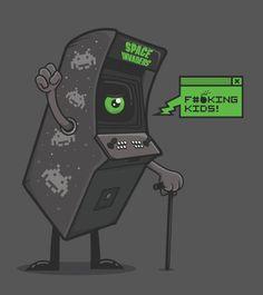 jajajajajajaj :) #arcade #videojuegos