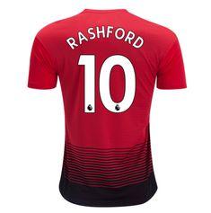 20f47f8b385 Manchester United 18 19 Home Men Soccer Jersey RASHFORD 10