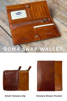 Floto leather wallets are handmade in Tuscany with natural vegetable tanned leather so they will last a lifetime. Find the perfect gift this holiday season. Leather Tooling Patterns, Leather Wallet Pattern, Leather Craft Tools, Leather Projects, Leather Key Case, Leather Pouch, Backpack Pattern, Best Wallet, Leather Wallets
