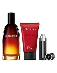 Dior Fahrenheit Eau de Toilette Mens Holiday Fragrance Set Women's