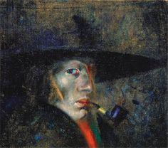 """Salvador Dalí (1904-1989), """"Self-Portrait (Figueres)"""" - The Dalí Museum ~ St…"""