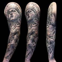 Mexican Mayan full sleeve tattoo for men by Steve Toth Professional Tattoo, Sleeve Tattoos, Tattoos For Guys, Tattoo Artists, Mexican, Men, Tattoo Sleeves, Tattoos For Men, Guys