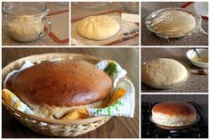"""Hawaiian Sweet Bread~{Barbara  Bakes} ..""""A light and fluffy, slightly sweet round loaf of yeast bread with a Hawaiian twist.    Many of you are probably familiar with the round King's Hawaiian Sweet Bread you can buy in grocery stores. Did you know it's easy to make at home. You just make the dough, let it rest 15 minutes, shape it in to a round loaf and put it in a pie plate. After another 15 minutes resting time, you pop it in the oven until it's golden brown and ready to eat."""""""