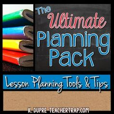 The Lesson Plan Pack! Lesson planning just got easier with this collection of tools and tips to help you supercharge team planning! Guides, editable templates, ready reference pages and more to help you create amazing unit plans and powerful lessons. Who is This For?