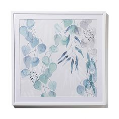 Mercer + Reid - Winter Frost Print Falling Foliage - Homewares Wall Art & Mirrors - Adairs Online