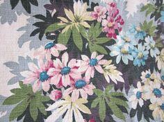 Slikovni rezultat za barkcloth floral