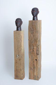 Reclaimed Wood Beams to display your artwork