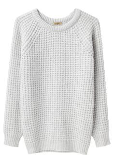 xl waffle sweater.