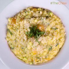 Michael Symon's Zucchini #Risotto #TheChew
