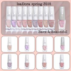 Beautiful nails 💅🏼ready for IsaDora ss2018🎀 pastel colors 🎨Inspiration 🧥👢👜👒nude color 🌂☂️trends 🍆🍇Ultra Violet PANTONE 18-3838 💁🏻♀️💕