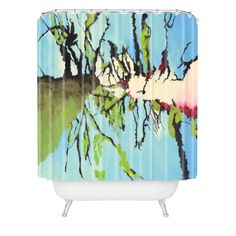 Fresh Artists Denver Trees Shower Curtain | DENY Designs Home Accessories