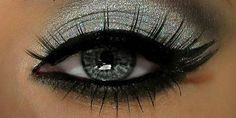 DIAMOND EYE SHADOW. NOT FOR EVERYDAY BUT I LOVE IT WHEN IT'S SOMETHING SPECIAL!