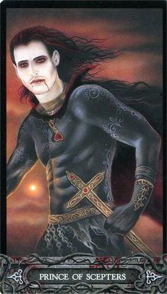 Tarot of Vampyres ► Prince of Scepters