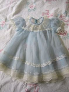 Baby Lamb, Kids Clothing, Baby Dress, Baby Blue, Kids Outfits, Larger, Composition, Flower Girl Dresses, Dolls