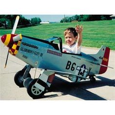 Pedal P-51 Mustang Woodworking Plan Here's the ultimate toy for your young pilot! The P-51 features a four blade prop driven by the variable height pedal crank, gear doors, exhaust stacks, flexible wi