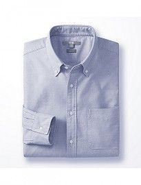 Uniqlo Men Oxford Slim Fit Long Sleeve Shirt