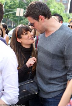 images of cory monteith and lea michele - Google Search