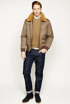 Crew 2014 Fall/Winter Collection: Though a widely distributed and accessible design label, J.Crew keeps up with its contemporaries Latest Mens Fashion, Fashion News, Men's Fashion, Fashion Updates, Winter Fashion, Fashion Design, Men's Collection, Winter Collection, Vogue Paris