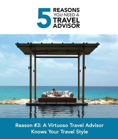 Adelman Vacations - The top five reasons you need a travel advisor http://whtc.co/b8u6