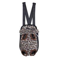 Leopard/Camo/Striped Pet Backpack Carrier [ S/M/L/XL ]